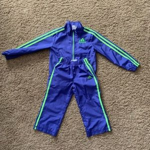 Adidas track suit girls